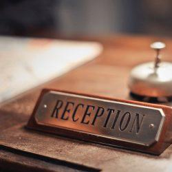 The Agency reception desk